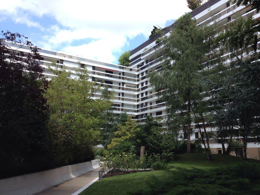 Résidence très sécurisée du 16ème arrondissement