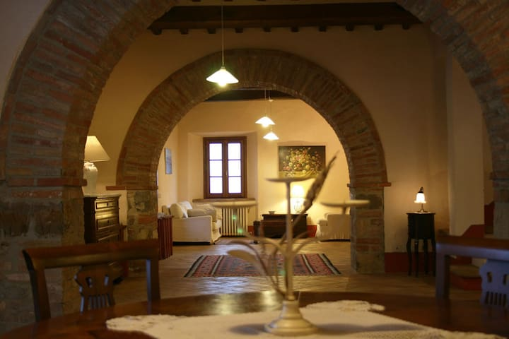 Una Toscana da sogno: Vetrica, - San Casciano dei Bagni - Villa