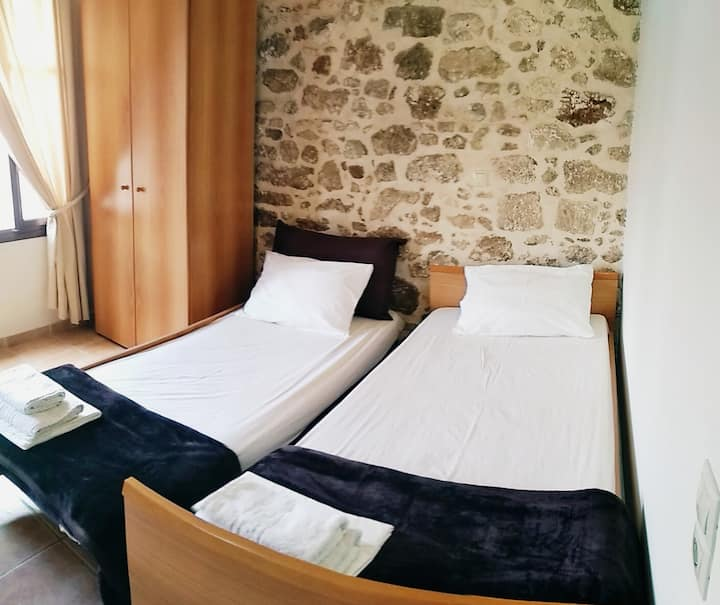 Stay in the old town of Rethymno