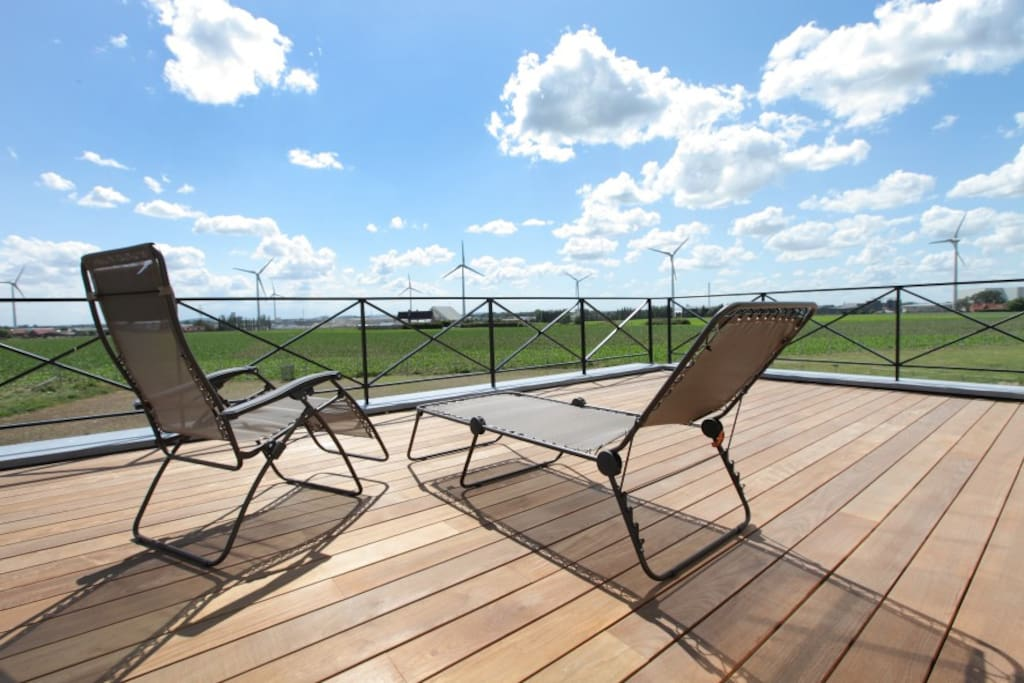 Relax on your private terrace...