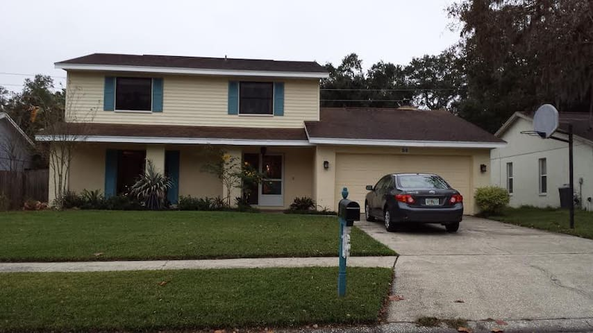 Clean, quiet room in Safety Harbor - Safety Harbor - Casa