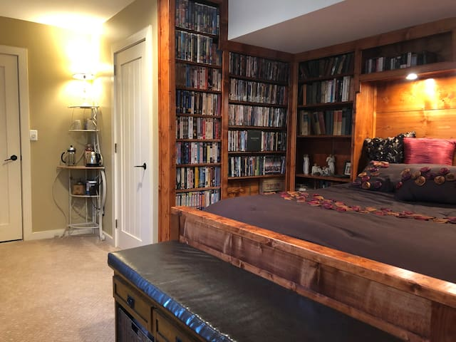 The Library Suite at Nestled Inn