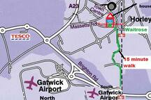 So convenient this is the closest airbnb house to Gatwick airport, train station (for London, Gatwick, Crawley Brighton, Redhill etc), pubs, restaurants, Waitrose / Lidl supermarket