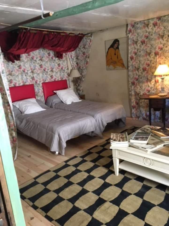 chambre lits jumeaux  2
