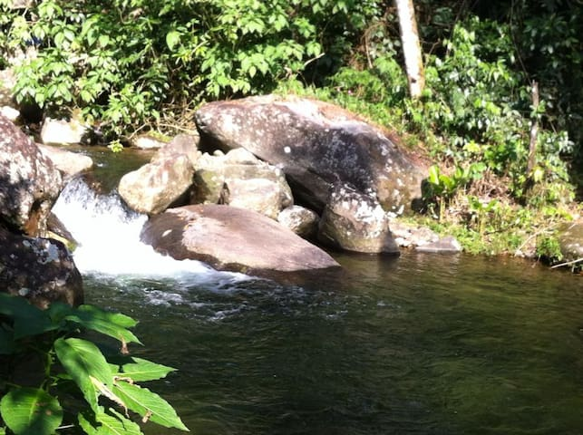 Sitio com cachoeira privativa na mata atlântica - Cachoeiras de Macacu - Hytte