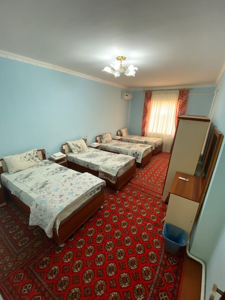 Khiva's pleasant and charming Female dormitory