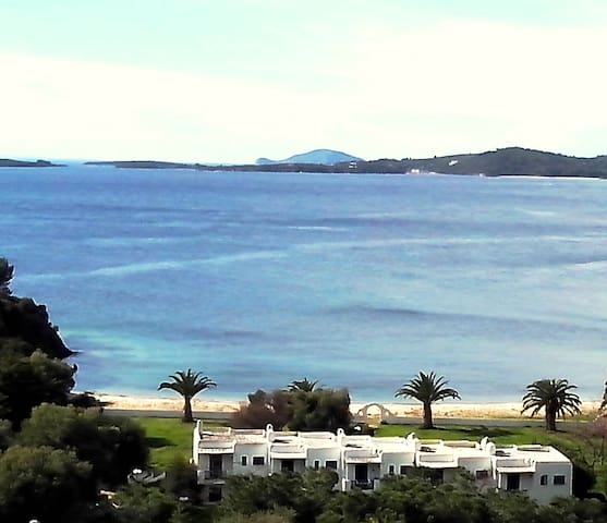 Aretes bay sea view maisonette - Toroni - Hus