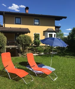 Own room with private bath & garden in Hallein - Adneter Riedl