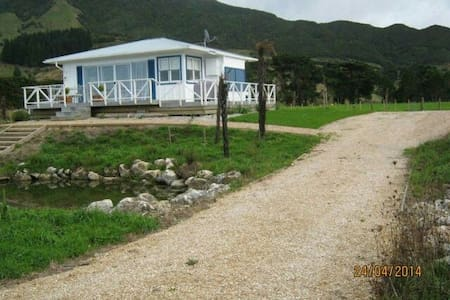 Coastal country cottage - Pakawau - Hus