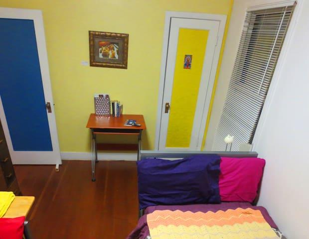 Yellow room,  Cozy 1946 Home