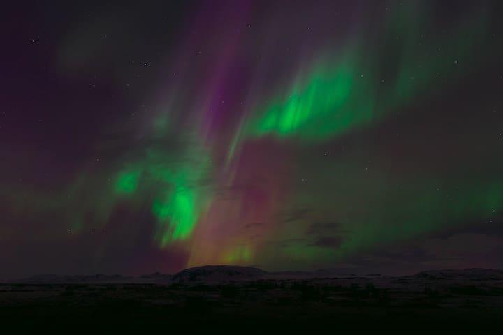 Northern lights at your doorstep..