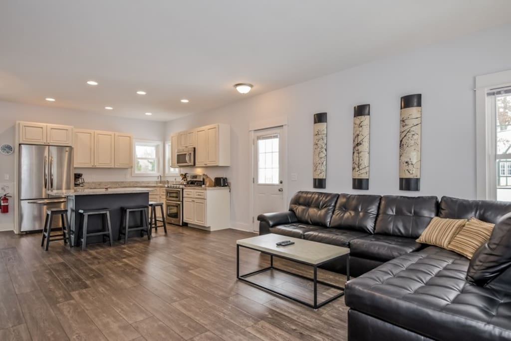 Great Room, with family room, kitchen