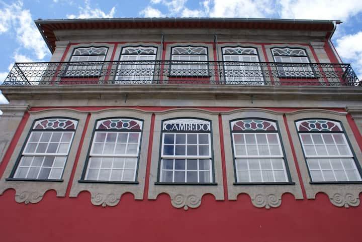 Quarto do Rio-Casa da Ponte(suite)