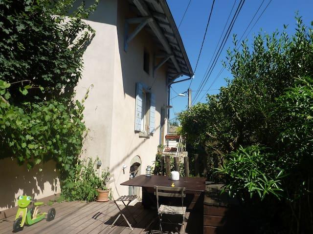 Maison de charme dans joli village près de Lyon - Saint-Germain-au-Mont-d'Or - Casa