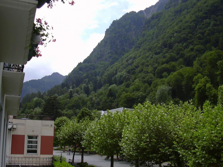 Vue sur le fond de la vallée