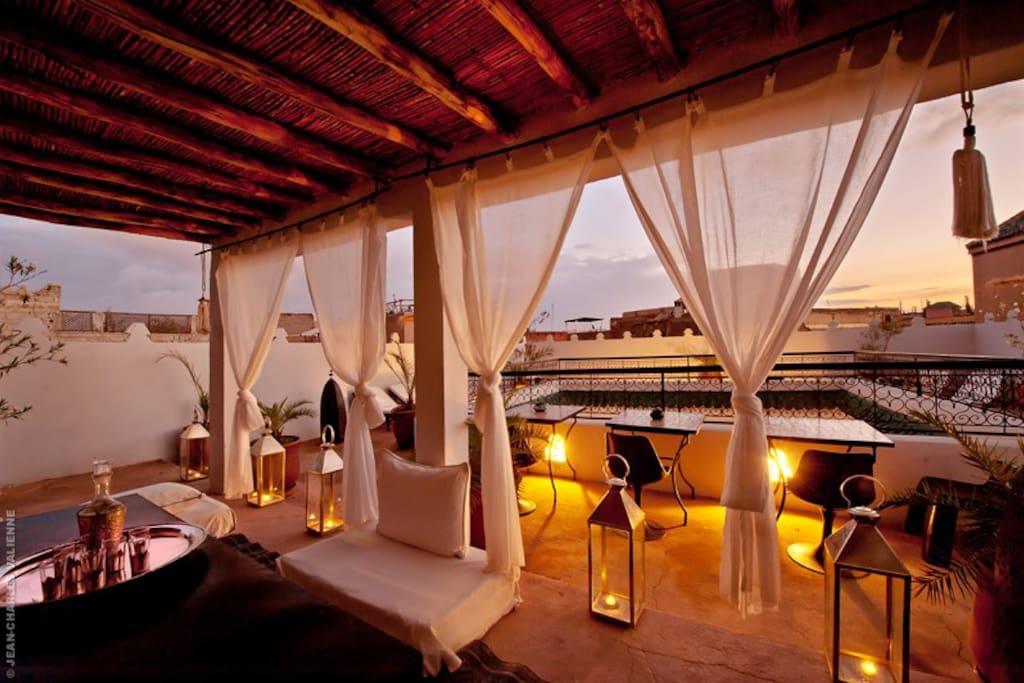 Riad maison d 39 h tes marrakech chambres d 39 h tes louer for Chambre d hotes marrakech