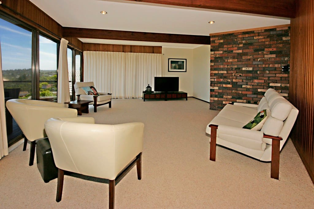 Comfortable lounges, TV and DVD