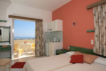 Cozy Studio with Sea View - malia - Wohnung