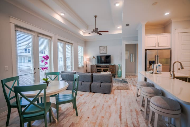 Open Dining/Living/Kitchen