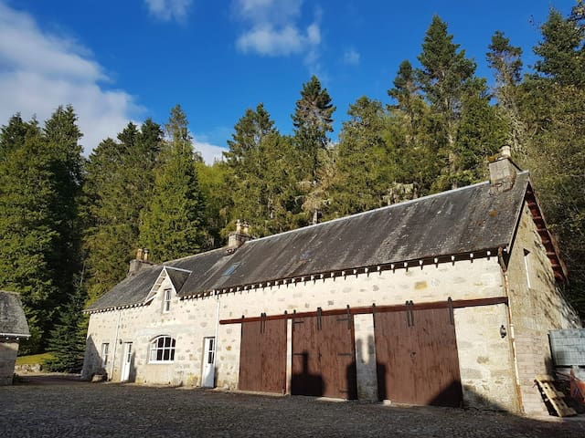Distiller's Cottage and the Distillery