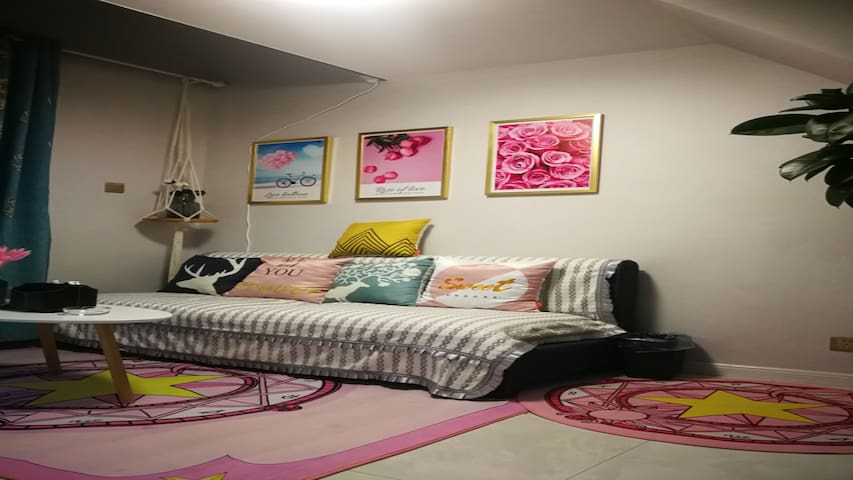朴宿微澜 :拾光: 公寓 新房优惠|大屏投影| 私家公寓/开发区/伊犁河,网红海棠路/独立温馨一居室