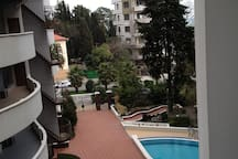 swimming pool outside
