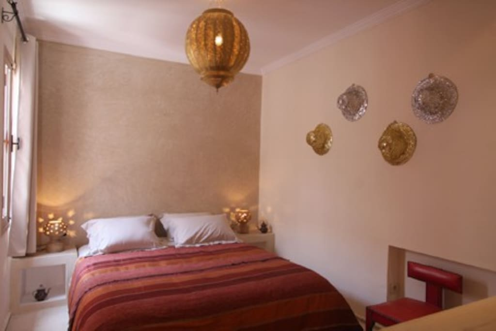 Riad tahani standard double room chambres d 39 h tes for Chambre d hotes marrakech
