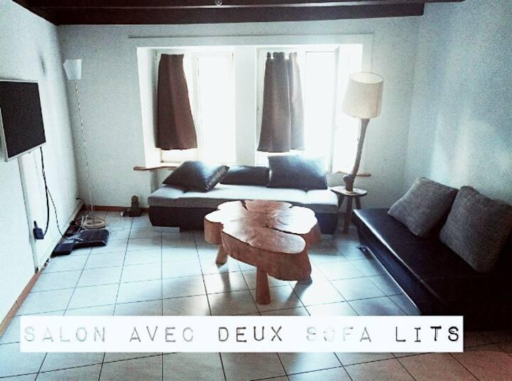 Joli appartement près du lac de Neuchâtel (Suisse)