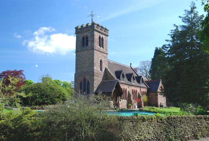 Converted Rural Chapel, Peak Park - Heaton - House