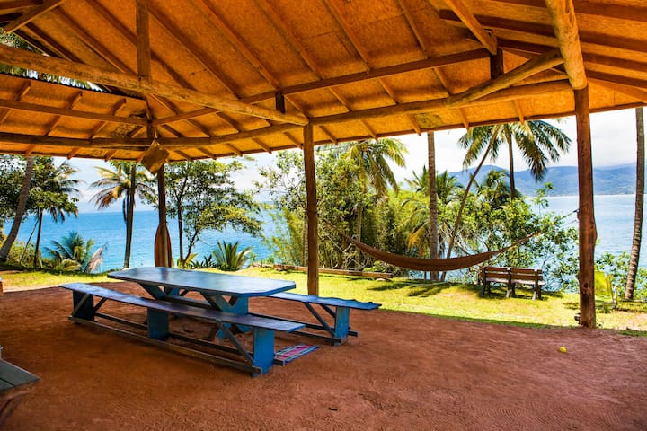 Camping em Ilha particular