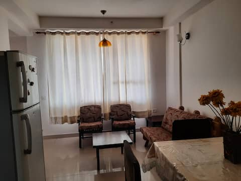 1 BHK fully equipped furnished apartment