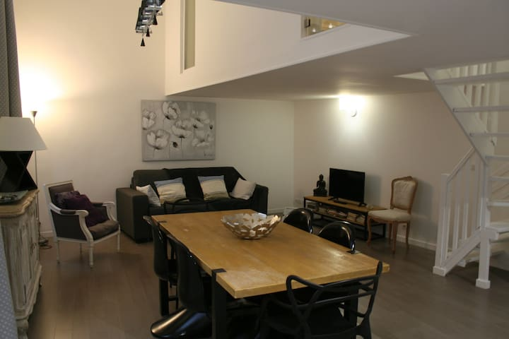 Loft in the heart of the Old Town, 2bdr - Nizza - Loft
