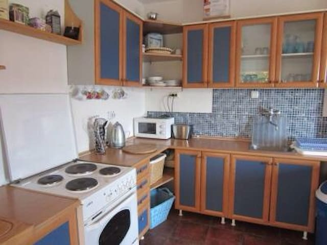 Ground floor flat kitchen