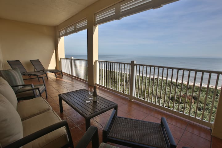 Fantastic oceanfront 3BR/2BA condo. Unit 853. - Palm Coast - Flat