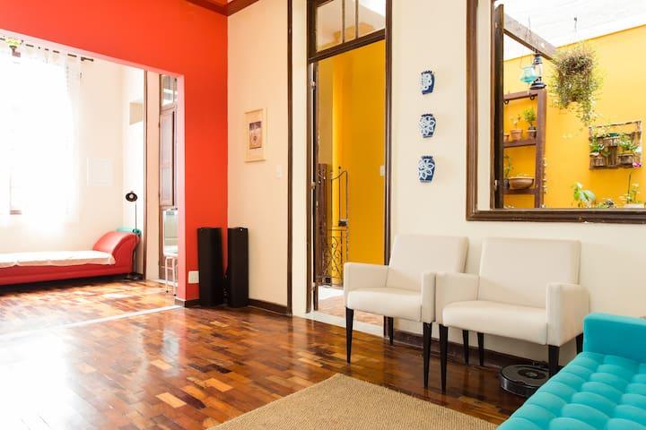 Lovely room in cool Santa Teresa - Rio de Janeiro