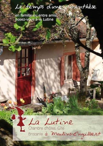Knus huisje, B&B, Morvan, Bourgogne - Moulins-Engilbert - Dům