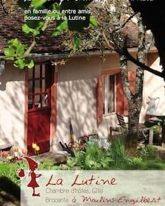 Knus huisje, B&B, Morvan, Bourgogne - Moulins-Engilbert