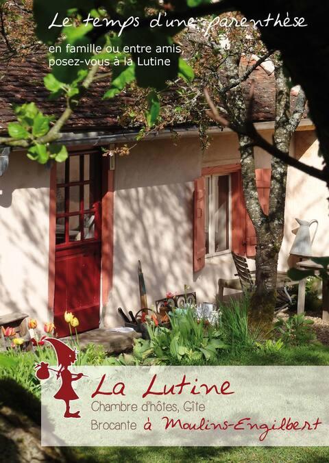 Knus huisje, B&B, Morvan, Bourgogne