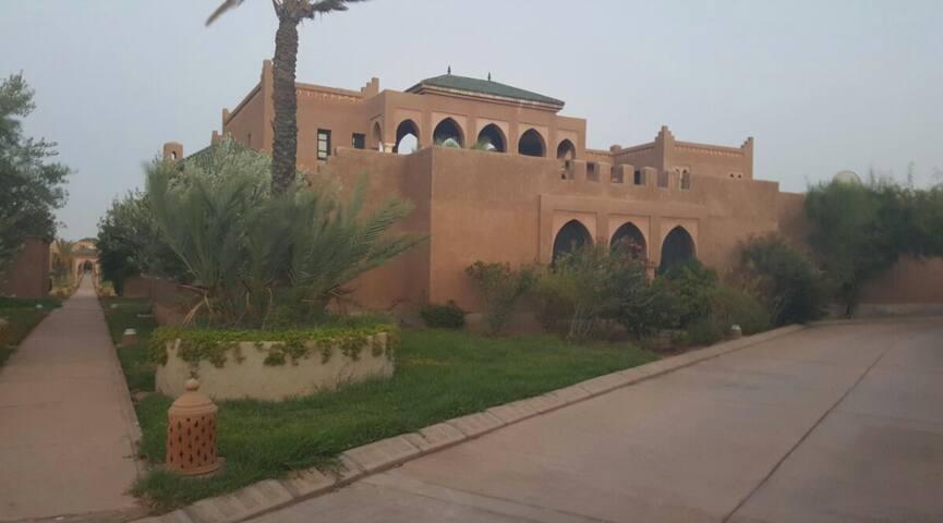 Villa vue extérieur