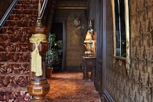 The entry hall is so stunning .. it needs several shots.