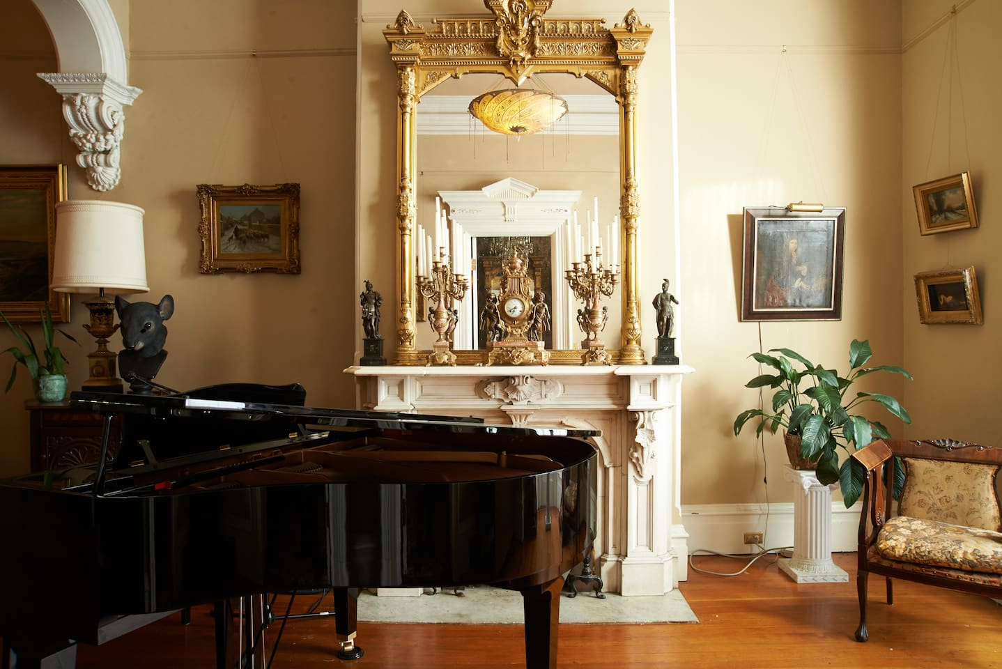 The grand parlor.