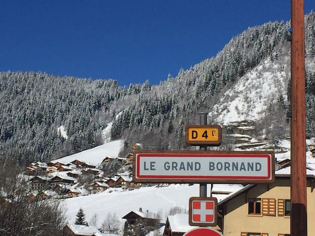 Charmant studio au Grand Bornand,  2/3 pers.