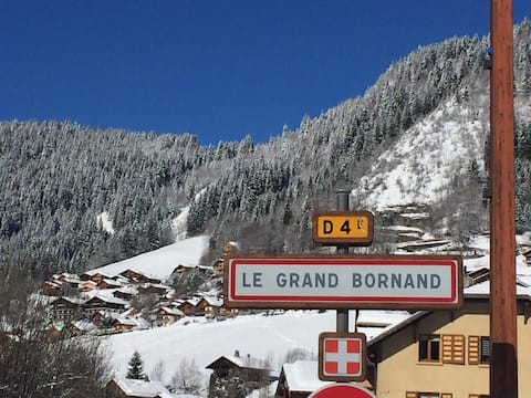 Charmant studio au Grand Bornand,  2/3 pers.