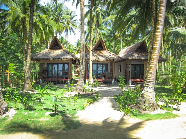 Surfing Carabao Beach House 2