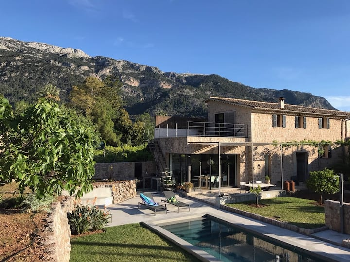 La Basa | design finca in Sóller with pool & view