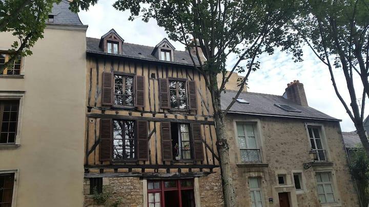 Studio de charme dans le centre historique du Mans