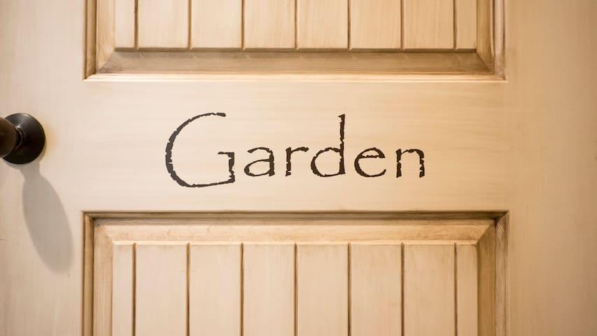 Garden Suite entrance
