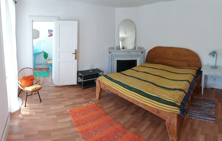 Nice calme room in a beautiful house - Donazac - Vila