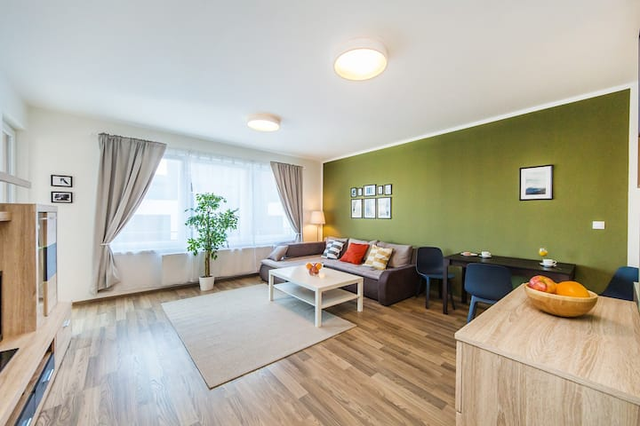 NEW Family Apartment with free parking and terrace