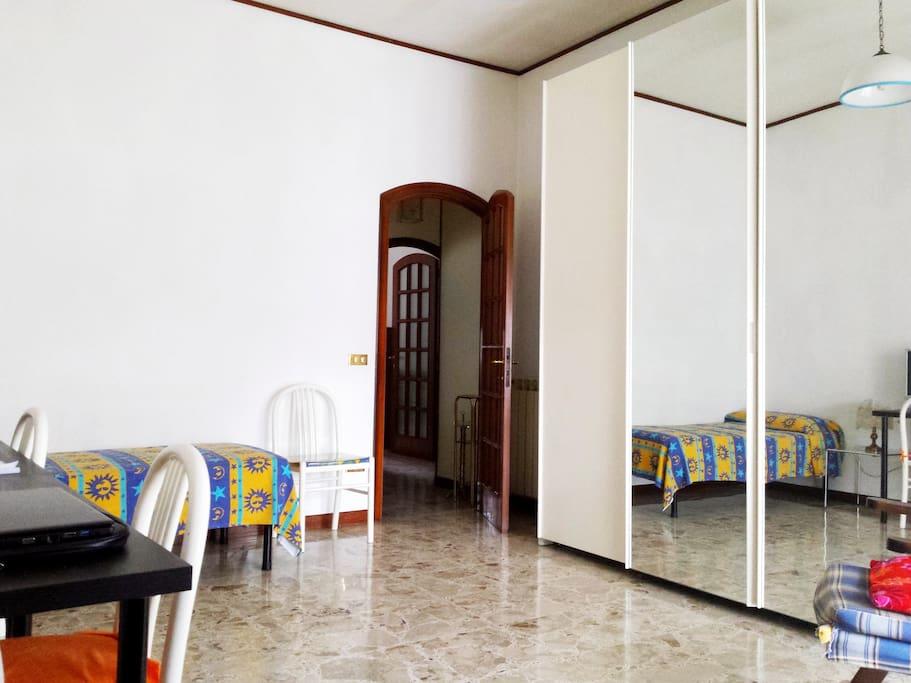 Camera Doppia o Singola (a richiesta letto matrimoniale)